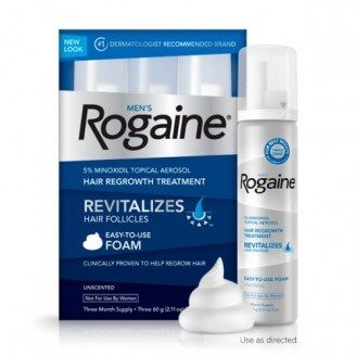 Rogaine Foam на 3 месяца для мужчин
